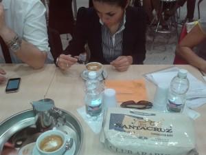 il caffè Santacruz peril Campionato del Cappuccino