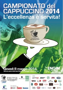 campionato del cappuccino ENGIM 2014 salone del libro